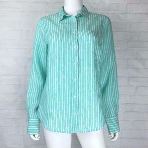 J.Crew Baird Mcnutt Irish Linen Shirt